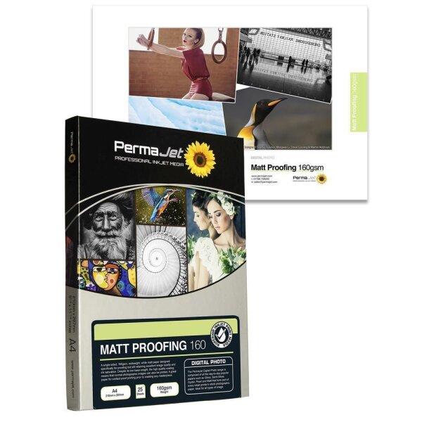 PermaJet Matt Proofing 160, DIN A4, 150 Blatt
