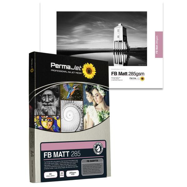 PermaJet Fibre Base Matt (Delta) 285, DIN A2, 25 Blatt