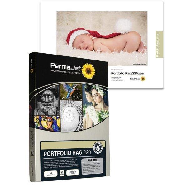 PermaJet Portfolio Rag 220, DIN A4, 25 Blatt
