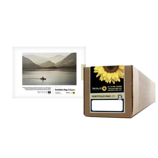"""PermaJet Portfolio Rag 220, Rolle (44"""") 111,8 cm x 15 m"""