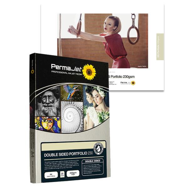 PermaJet Double Sided Portfolio 230, DIN A4, 25 Blatt