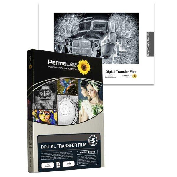 PermaJet Digital Transfer Film 165µ, DIN A4, 10 Blatt