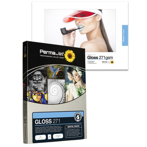 """PermaJet Gloss 271, 13x18 cm (5x7""""), 100 Blatt"""