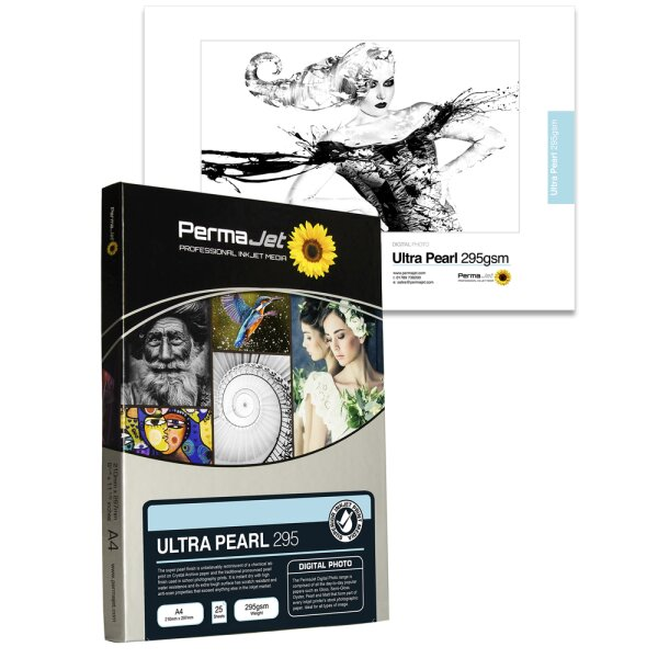"""PermaJet Ultra Pearl 295, 13x18 cm (5x7""""), 100 Blatt"""
