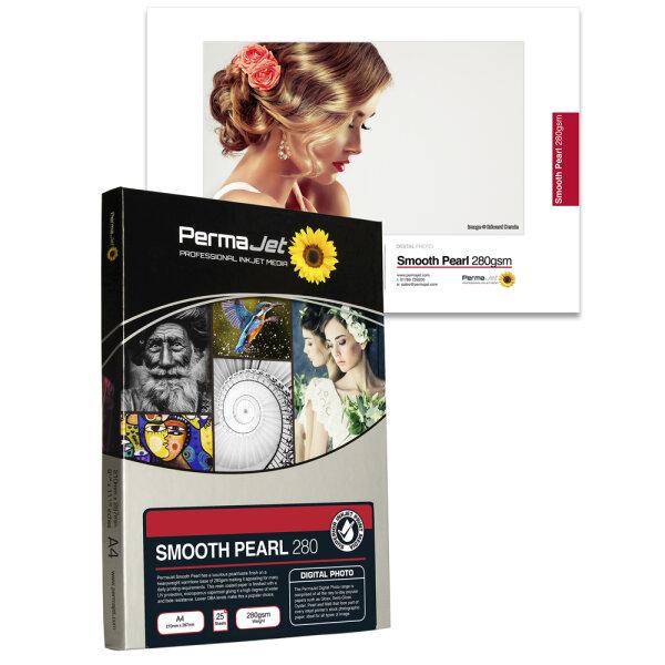 "PermaJet Smooth Pearl 280, 10x15 cm (4""x6""), 100 Blatt"