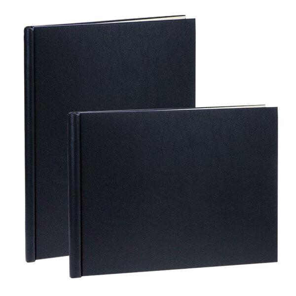 PermaJet SnapShut Folio Album DIN A4 quer 25mm Rücken schwarz