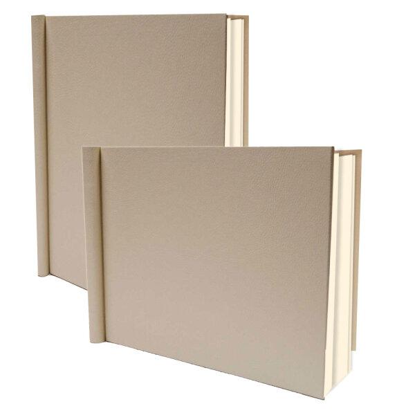 PermaJet SnapShut Folio Album DIN A4 hoch 15mm Rücken creme
