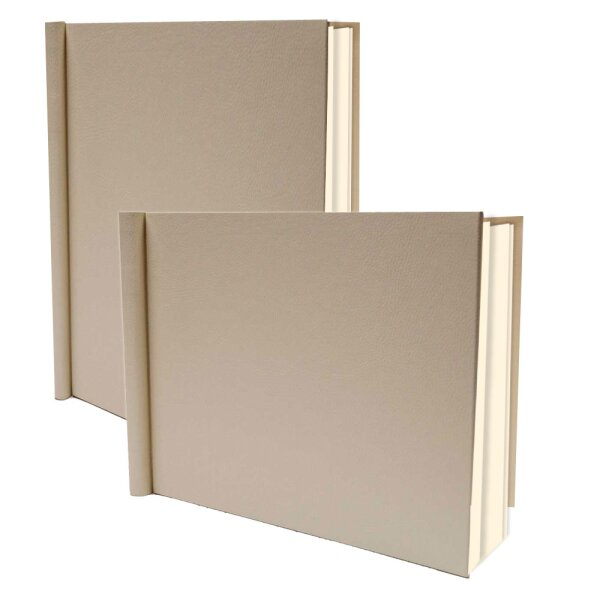PermaJet SnapShut Folio Album DIN A4 quer 15mm Rücken creme