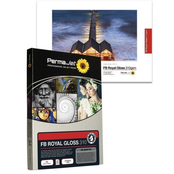 PermaJet FB Royal Gloss 310, A3+ (329x483 mm), 25 Blatt