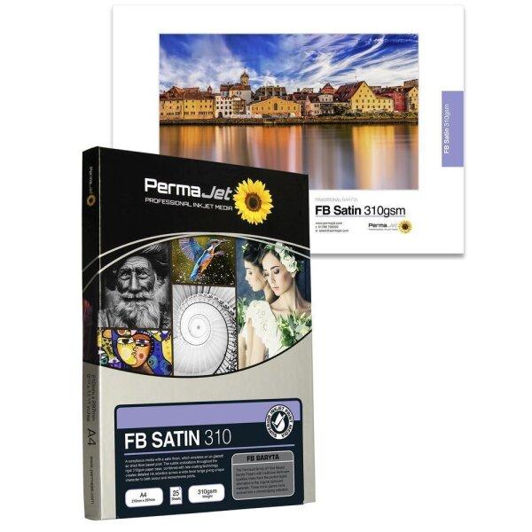 PermaJet FB Satin 310, A3+ (329x483 mm), 25 Blatt