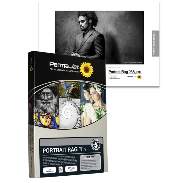 PermaJet Portrait Rag 285, DIN A3, 25 Blatt