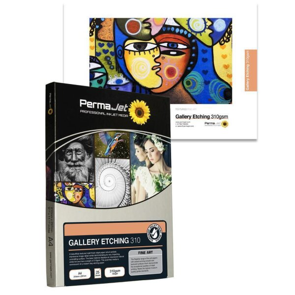 PermaJet Gallery Etching 310, DIN A4, 25 Blatt