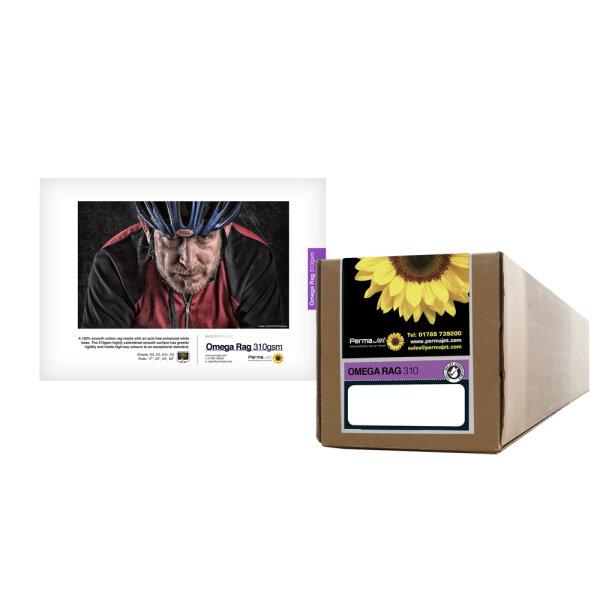 """PermaJet Omega Velvet Rag 310, Rolle (17"""") 43,2 cm x 15 m"""